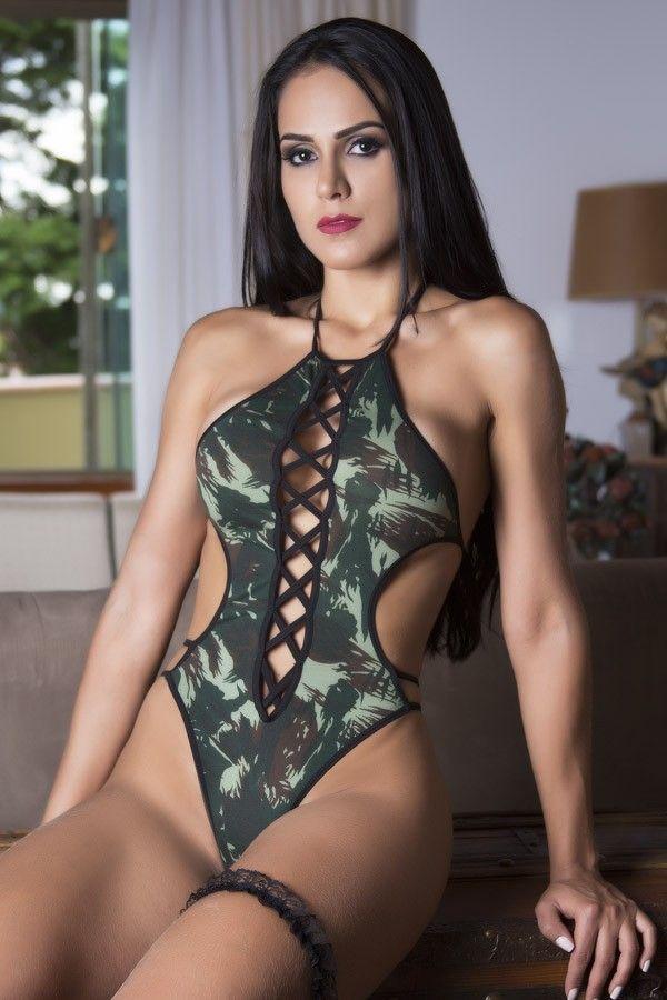 Fantasia erótica Body Tenente Militar do Exército
