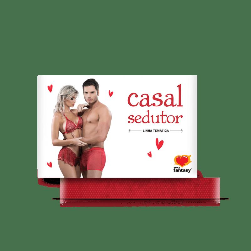 Fantasia Erótica Casal Sedutor Linha Temática - Sexy Fantasy