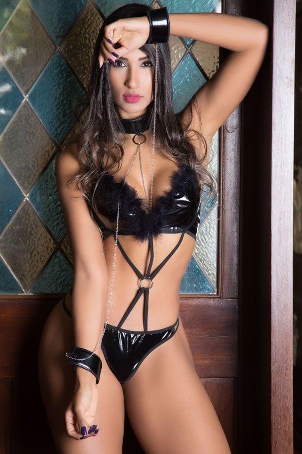 Fantasia erótica Escrava Sexy - Garota veneno