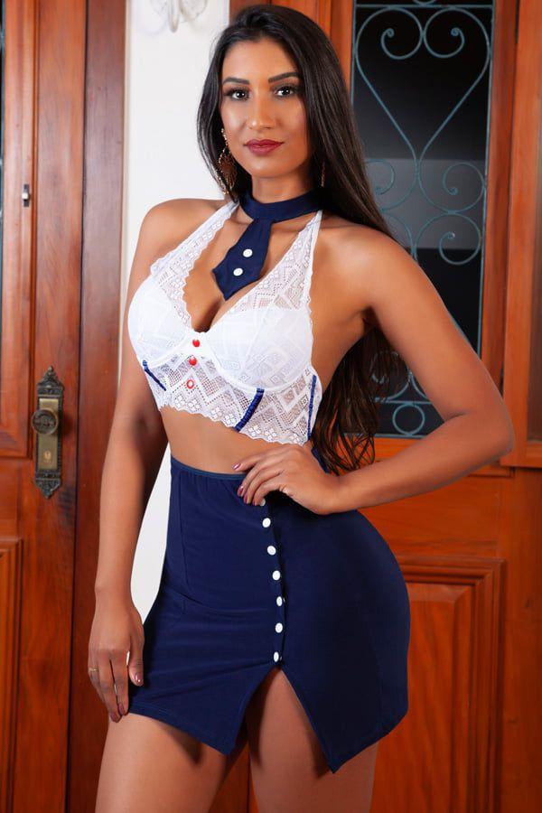 Fantasia Erótica Marinheira Sexy – Garota Veneno