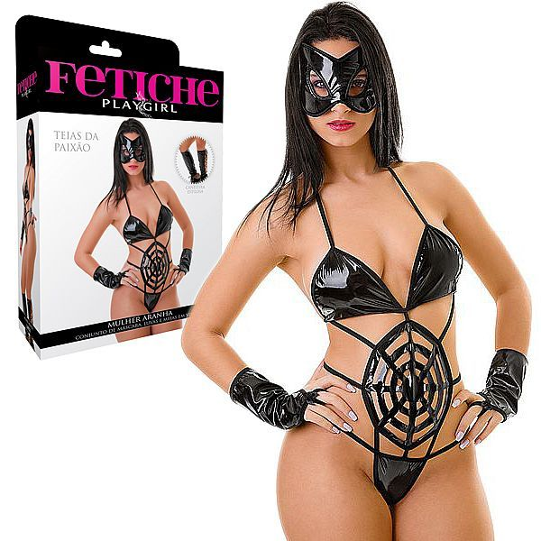 Fantasia Erótica Mulher Aranha - PlayGirl