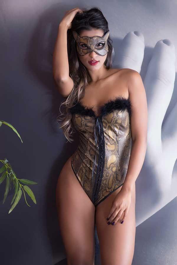 Fantasia Erótica Pantera Sexy - Garota Veneno