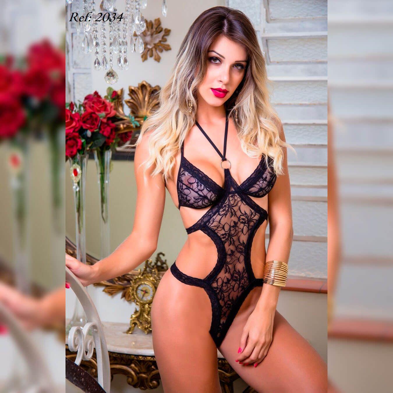 Fantasia feminina body pantera sensual