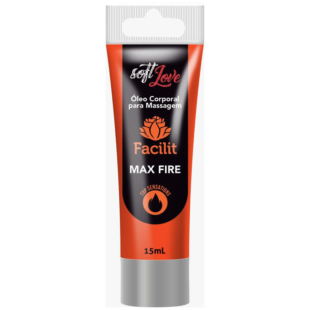 Gel anestésico anal Facilit Max Fire 15ml - Soft Love