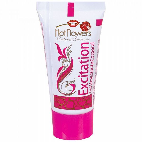 Gel Excitation Excitante Feminino 25g - Hot Flowers