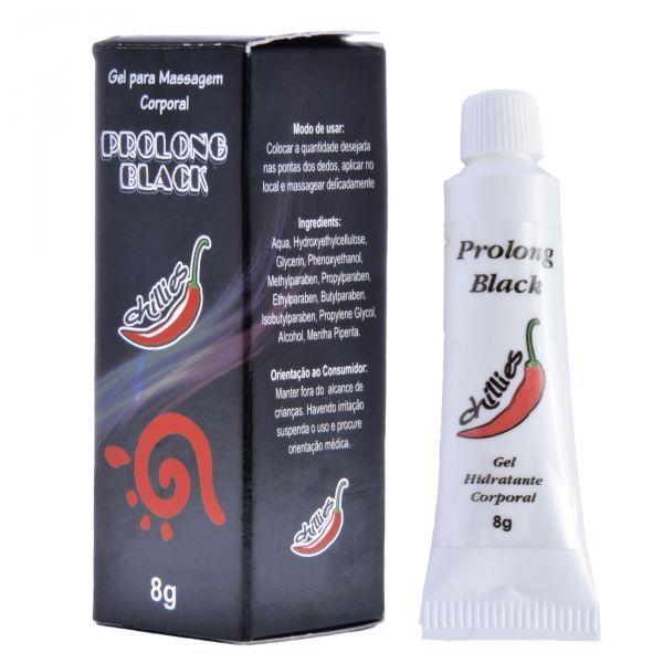Gel Retardante Prolong Black 8g - Chillies