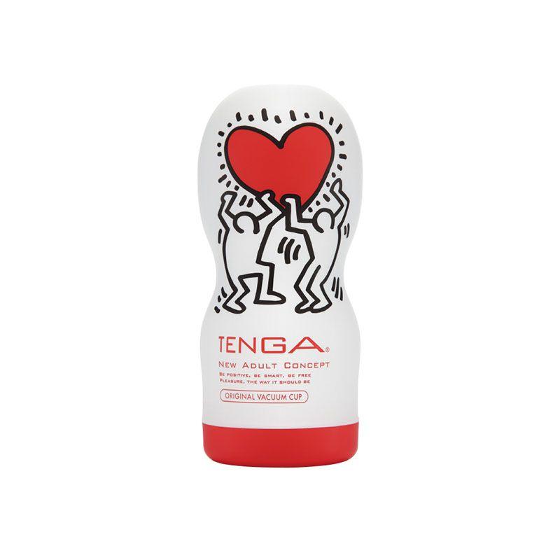 Keith Haring Cup Soft Tube Love - Masturbador Tenga