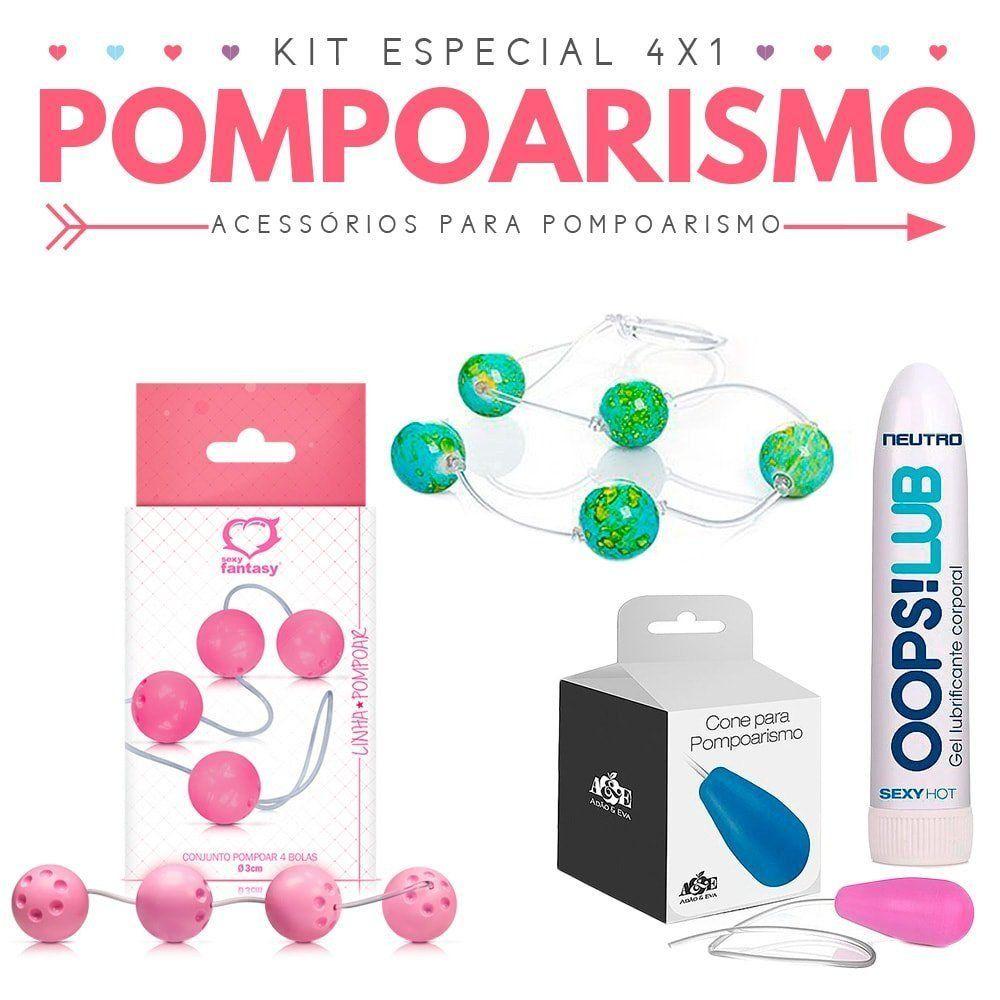 Kit Especial 4x1 de Pompoarismo