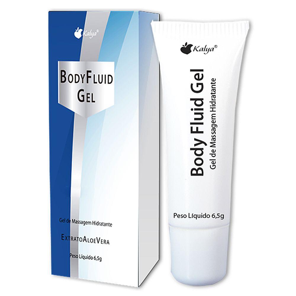 Lubrificante aromatizado Neutro body fluid 6,5g - kalya