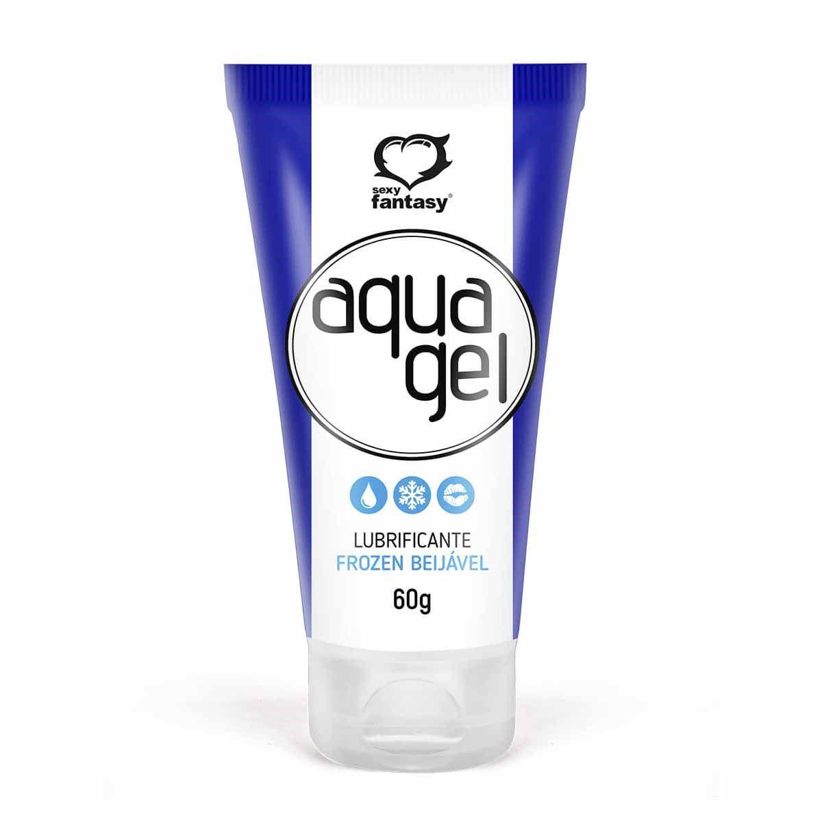Lubrificante intimo Aqua Gel Frozen 60G - Sexy Fantasy