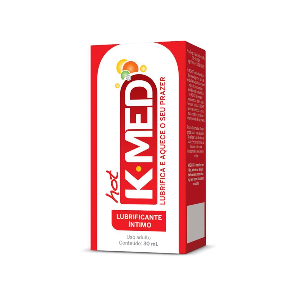 Lubrificante Íntimo Hot 30ml K-MED