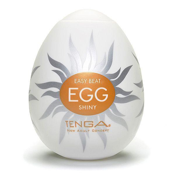 Masturbador masculino Tenga Egg - Shiny