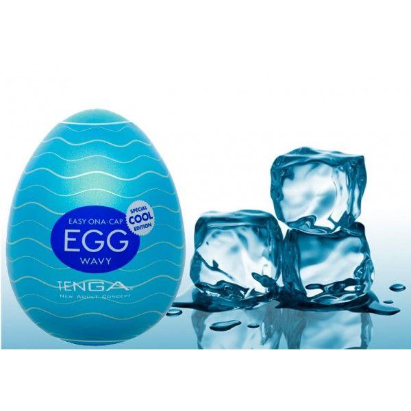 Masturbador Tenga Egg Wavy masculino - Special Cool Edition