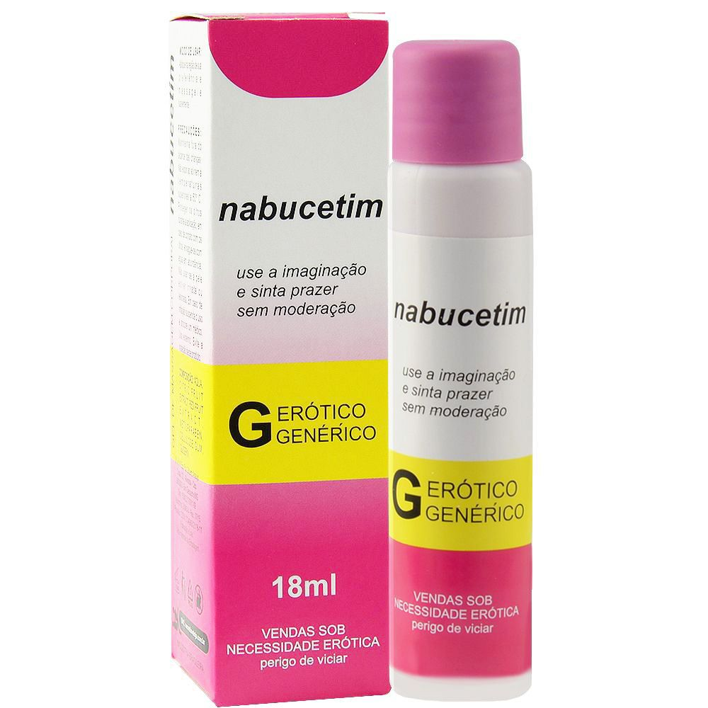 Nabucetim lubrificante aromático 18ml - Secret love