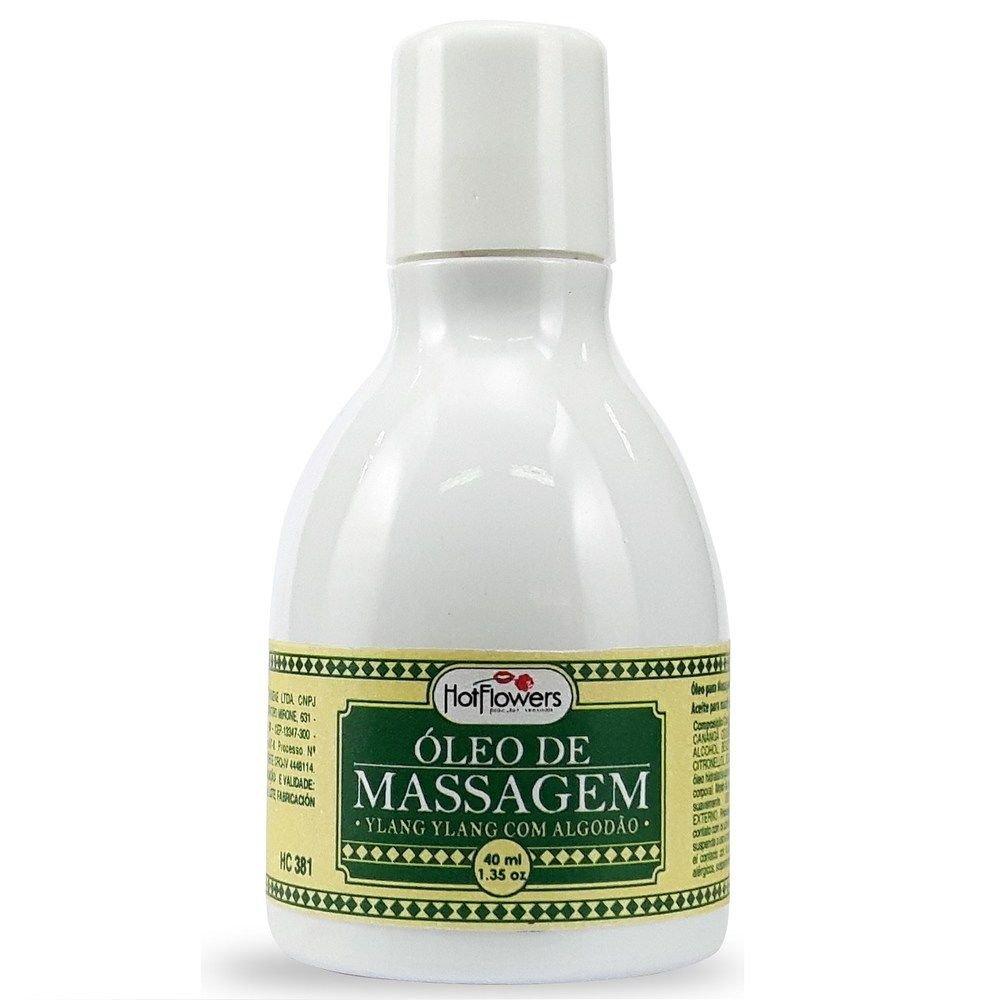 Óleo para Massagem - Ylang Ylang com Algodão