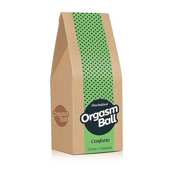 Orgasm Ball Conforto - com função de lubrificante anestésico
