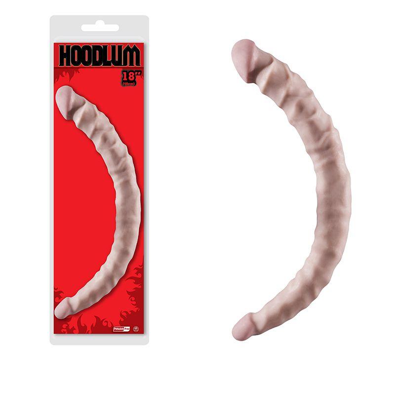 Pênis Ponta Dupla Para dupla penetração - Dong Hoodlum Flesh