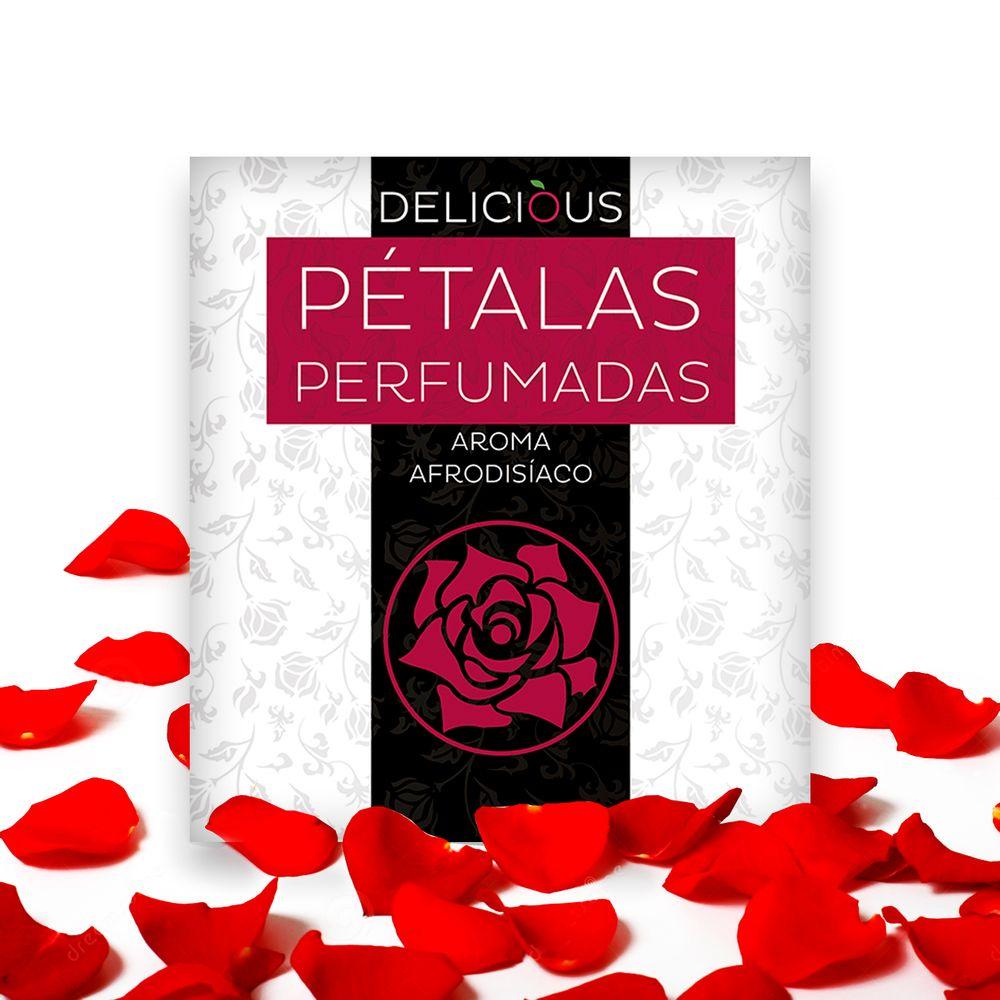 Pétalas Perfumadas Afrodisíacos Delicious - 100 Unidades