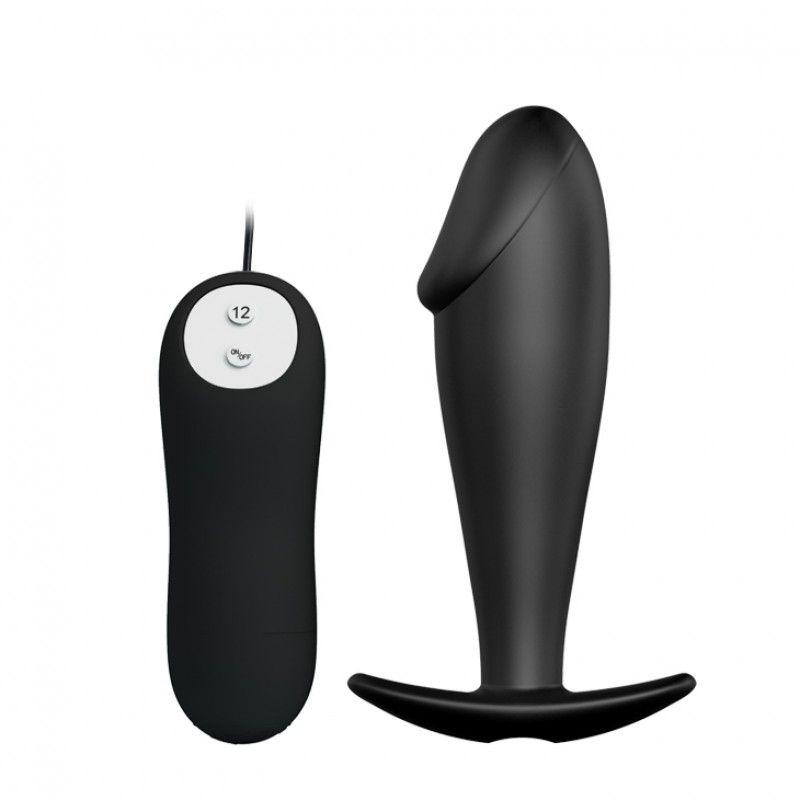 Plug Anal Com Vibrador E Ponta Em Formato De Pênis Anal Stimulation
