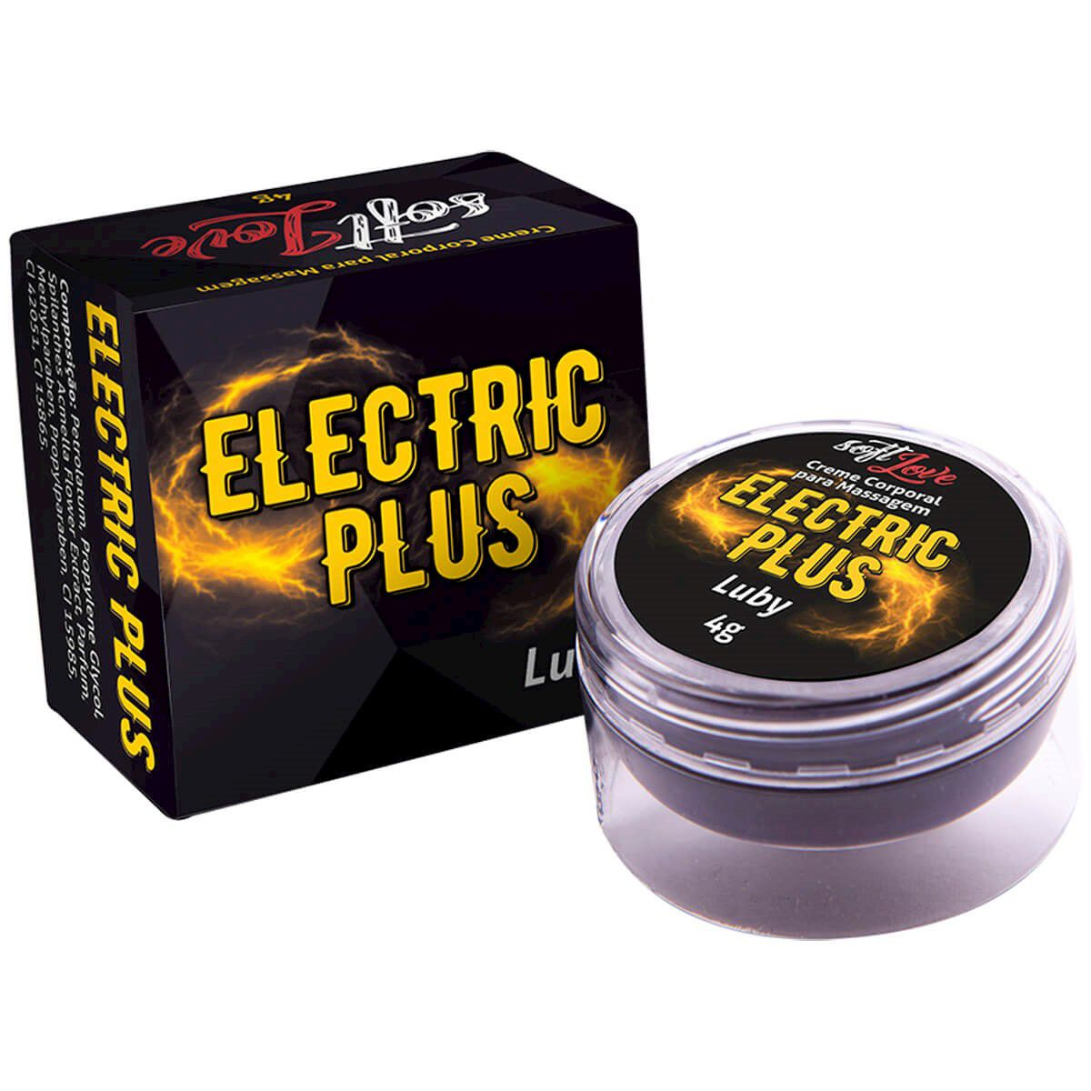 Pomada Eletric Plus Luby 4G - Soft Love