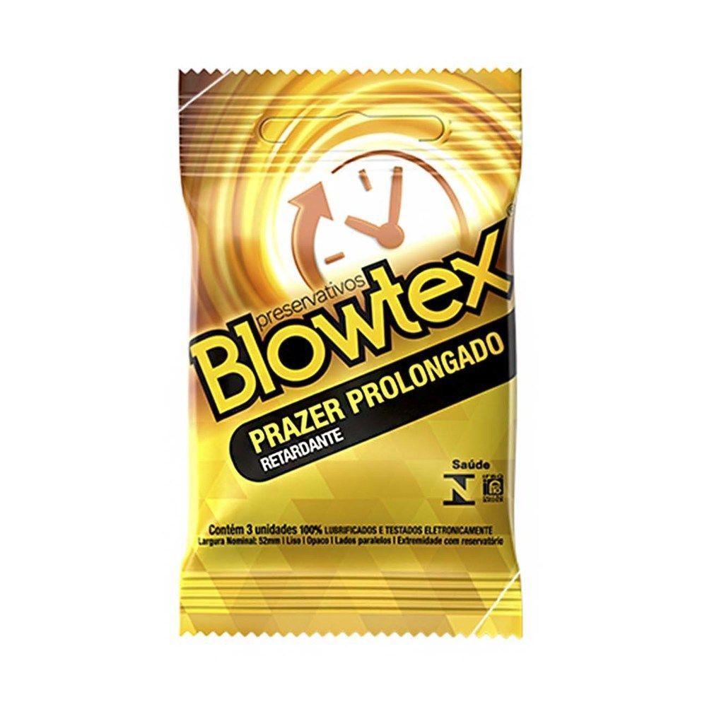 Preservativo Prazer Prolongado - Blowtex