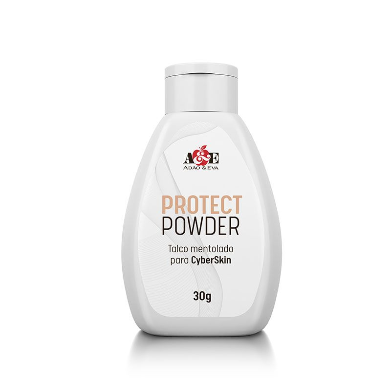 Talco Mentolado para CyberSkin - Protect Powder  - 30 gramas