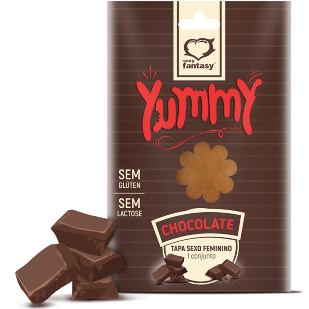Tapa Sexo Solúvel Feminino – Chocolate