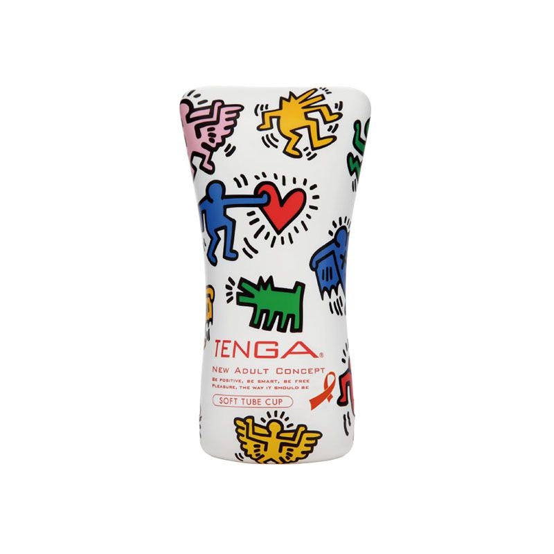 Tenga – Keith Haring Cup Soft Tube Party