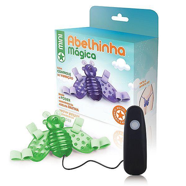 Vibrador Butterfly Mini Abelha mágica fosforecente - 12 Velocidade