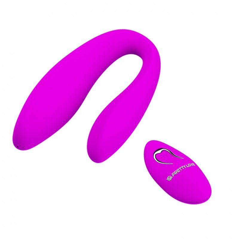 Vibrador Para Casal com 10 modos de vibrações Letitia - Pretty Love