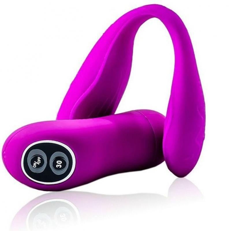 Vibrador para Casal com Controle Wireless e 30 Modos de Vibração