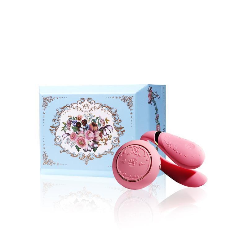 Vibrador para casal recarregável Versailles Fanfan Set Rosa - ZALO