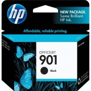 Cartucho de Tinta HP Officejet 901 CC653AB Preto