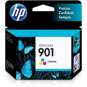 Cartucho de Tinta HP Officejet 901 CC656AB Tricolor