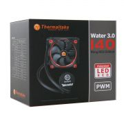 Cooler TT Water 3.0 Riing Red 140 All-In-One LCS