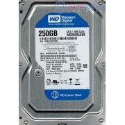 HD Para Desktop WD Blue 250GB 7200 RPM 16MB Cache SATA 3.0Gb/s 3.5