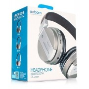 Headphone Bluetooth Exbom C/FM SD AUX