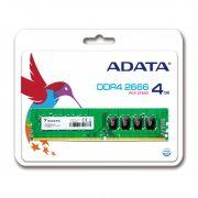 Memoria A-DATA Premier 4GB CL19 2666MHz DDR4 DIMM AD4U2666J4G19-S