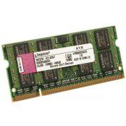 Memoria Notebook Kingston 2GB 800Mhz DDR2 - KVR800D2S6/2G