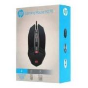 Mouse Gamer USB M270 RGB 2400DPI Led Preto HP