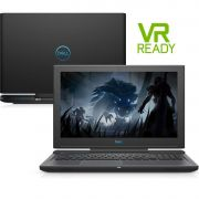 Notebook Gamer Dell G7-7588-M40P 8ª Ger. Intel Core i7 16GB 1TB + 256GB SSD Placa Vídeo Nvidia GTX 1060 6GB 15.6