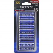 Pilha Sony AM3-B16D AA Alcalina