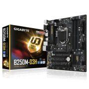 Placa Mae Gigabyte B250M-DS3H Lga 1151 DDR4
