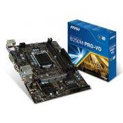 Placa Mae Msi B250M Pro-VD| 1151 DDR4