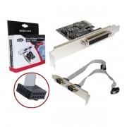 Placa PCI-Express Dex Com 2 Saidas Serial 1 Paralela