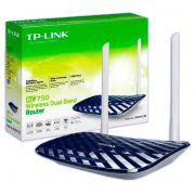 Roteador Wireless Tp-link Dual Band AC750 Archer C20