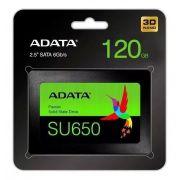 SSD A-DATA SATA 120GB SU650 SATA III 2,5