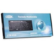 Teclado Multimidia DEX Super Slim