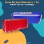 Caixa De Som Bluetooth InfoKit C/FM USB SD