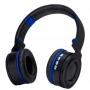 Headphone Bluetooth 5.0 Exbom Alcas Dobraveis Azul HF-480BT